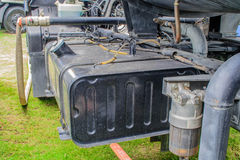 Truck fuel tank Royalty Free Stock Photography