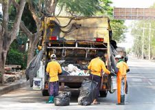 Truck garbage Stock Photos
