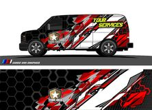 Truck graphics. Vehicles racing stripes background. Vehicles racing stripes background. vehicle graphic . abstract grunge background design for vehicle vinyl vector illustration