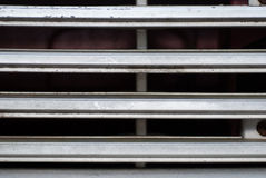 Truck grille background Royalty Free Stock Photography