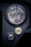 Truck headlight detail Stock Image