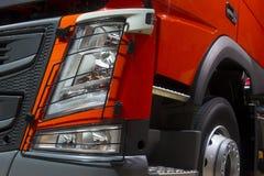 Truck headlight Stock Images