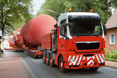 Truck Heavy Transport Royalty Free Stock Photo