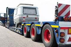 Truck Heavy Transport Stock Photography