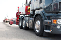 Truck Heavy Transport Royalty Free Stock Photography