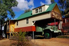 Truck-House Stock Images