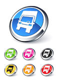 Truck icon Royalty Free Stock Image
