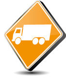 Truck icon Royalty Free Stock Photo