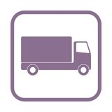Truck icon Royalty Free Stock Images