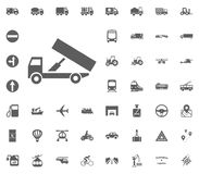Truck icon. Transport and Logistics set icons. Transportation set icons.  Royalty Free Stock Photos