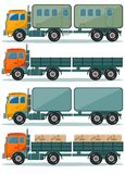Truck Icons Royalty Free Stock Photos