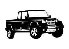 Truck illustration royalty free illustration