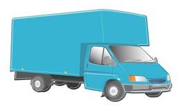 Truck illustration. Illustrations of large van / truck Royalty Free Stock Image