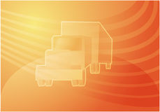 Truck illustration Royalty Free Stock Photography