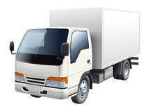 Truck illustration Stock Image