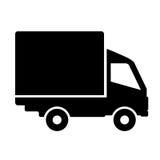 Truck illustration. Vector truck illustration on white background Stock Images