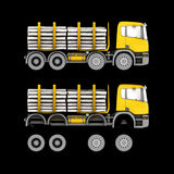 Truck isolated Stock Image