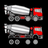 Truck isolated Stock Photography