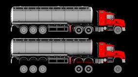 Truck isolated Royalty Free Stock Image