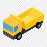 Truck isometric 3d icon Royalty Free Stock Images