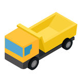 Truck isometric 3d icon Stock Photography