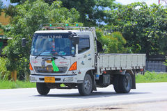 Truck of KYD transport company. Royalty Free Stock Photography