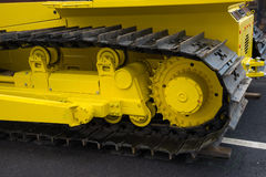 Truck of the large construction vehicle Stock Photos