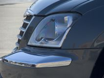 Truck Light. Car Headlight Stock Photo
