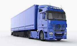 Truck on a light background Stock Photography