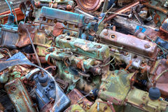 Truck Load Of Engines Stock Image