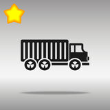 Truck lorry illustration Royalty Free Stock Image