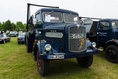 Truck MAN 620 L1, 1958 Stock Image