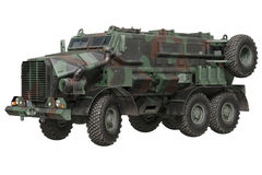 Truck military armored car Royalty Free Stock Photo