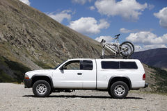 Truck mountain bike Royalty Free Stock Image