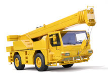 Truck Mounted Crane Royalty Free Stock Photos