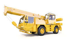 Truck Mounted Crane Stock Images