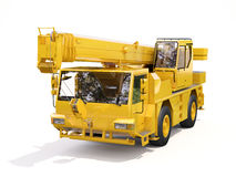 Truck Mounted Crane Stock Image