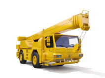 Truck Mounted Crane Royalty Free Stock Image
