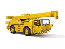 Truck Mounted Crane Stock Photo