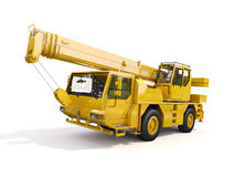 Truck Mounted Crane Royalty Free Stock Photography