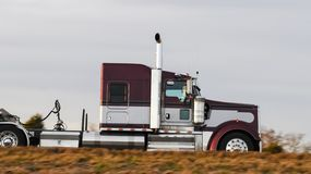 Truck is moving Royalty Free Stock Images