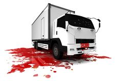 Truck murder Royalty Free Stock Photography