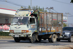 Truck of Nim See Seng Transport Stock Photography