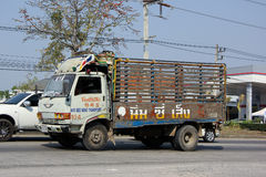Truck of Nim See Seng Transport Stock Image