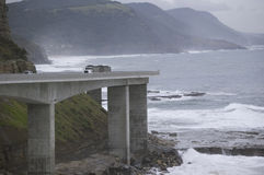 Free Truck On Sea Cliff Bridge Stock Photos - 4937093