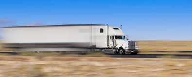Free Truck On The Move Stock Images - 22718824