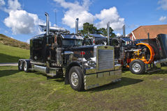 Truck peterbilt Stock Photo