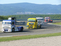 Truck race Royalty Free Stock Photos