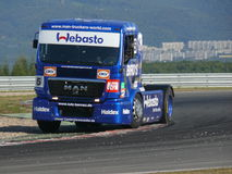 Truck Races Stock Images