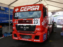Truck races Royalty Free Stock Photos